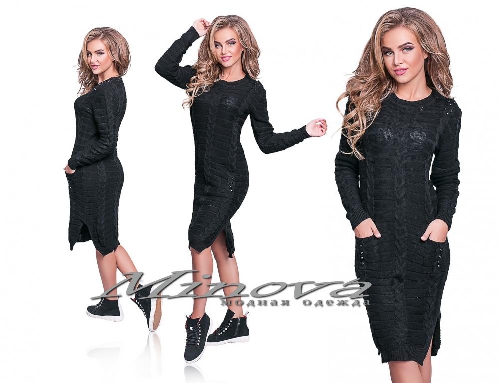 Платье №д3811-черный (sale)