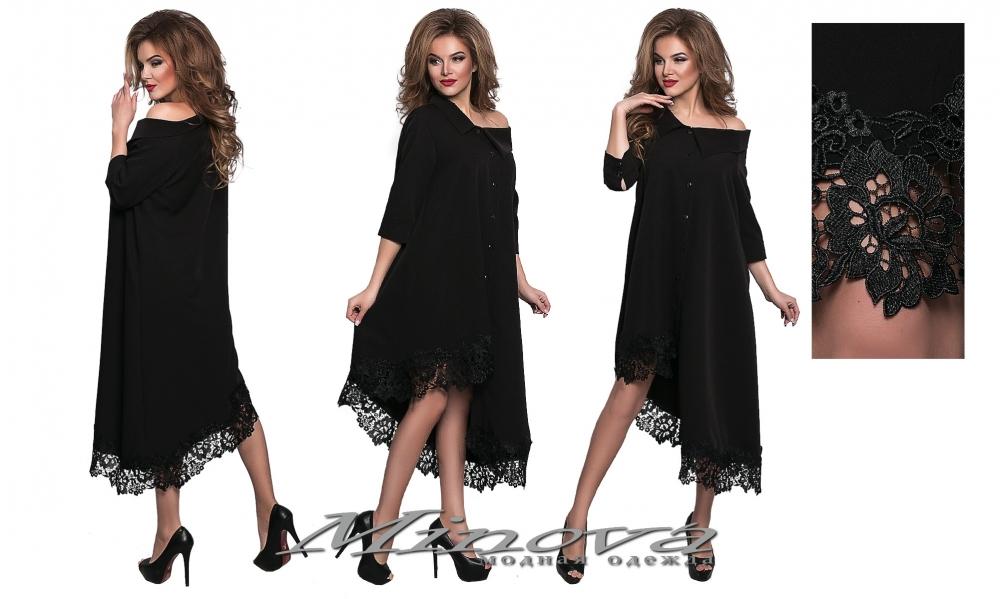 Платье №8551 н-черный (sale)