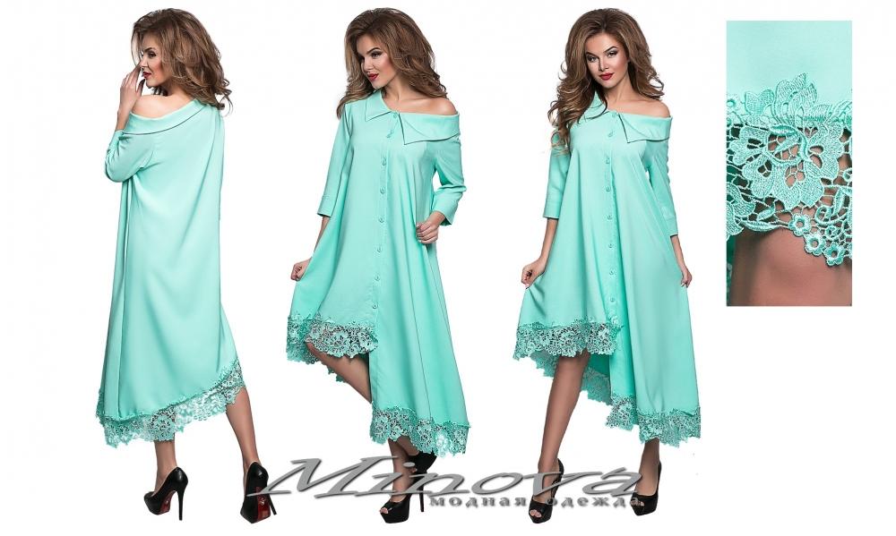 Платье №8551 н-мята (sale)