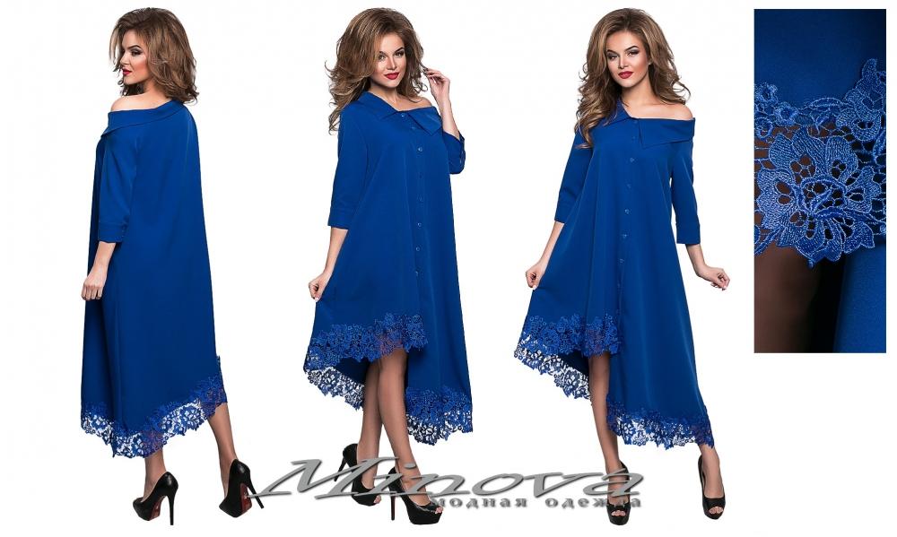 Платье №8551 н-электрик (sale)