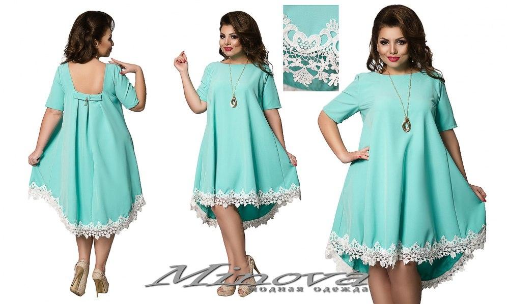 Платье №410 мята (sale)