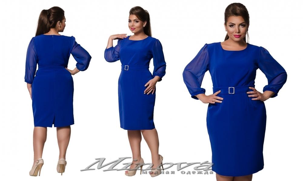 Платье №0192 (электрик) (sale)