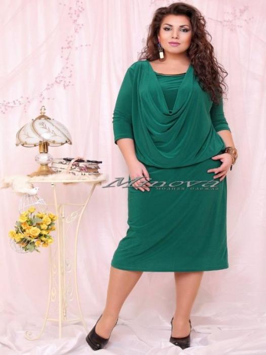 Платье №15-35 Роксолана -зеленый (sale)