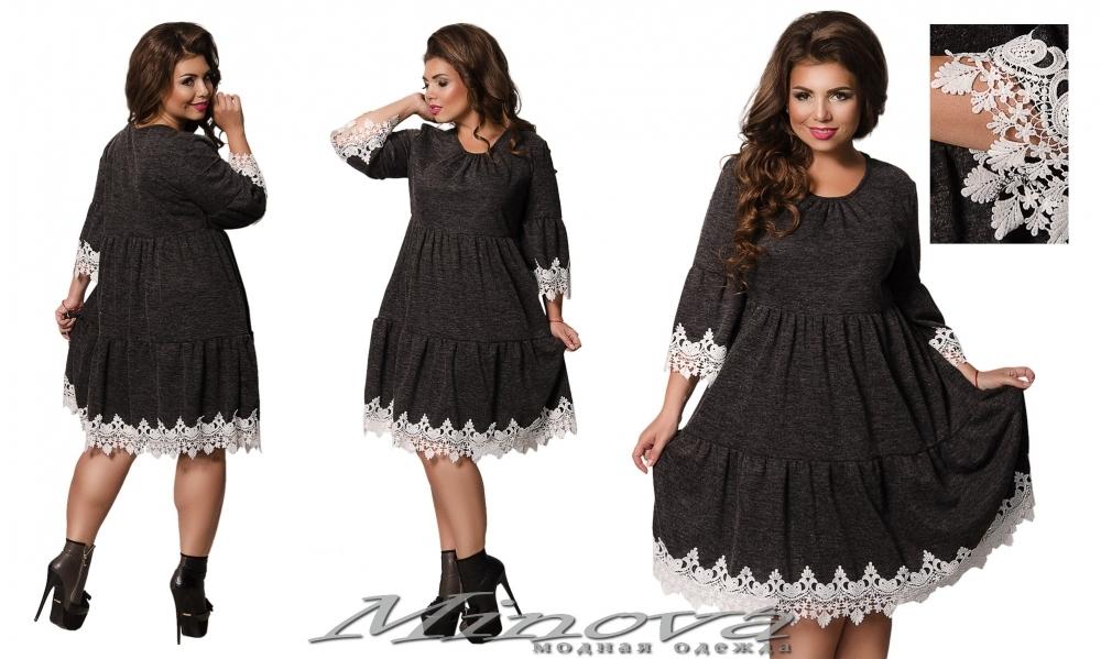 Платье №457 (графит) (sale)
