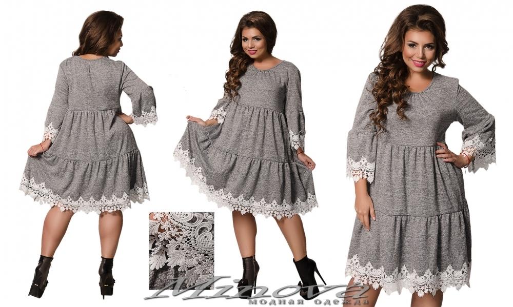 Платье №457 (серый) (sale)