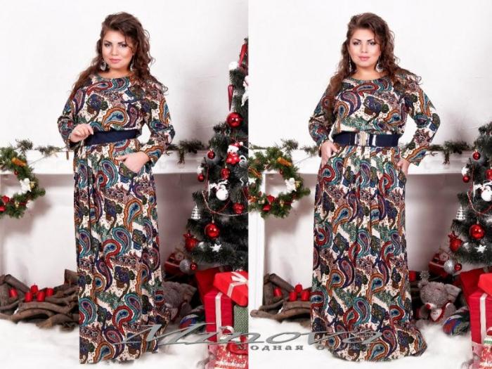Платье №315-22-бежевый (sale)