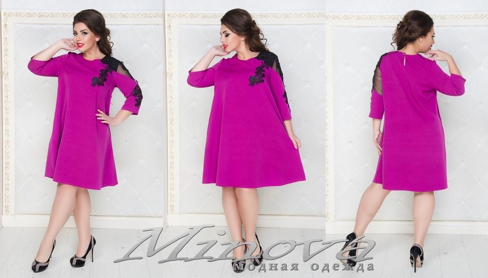 Платье №029 (фуксия) (sale)