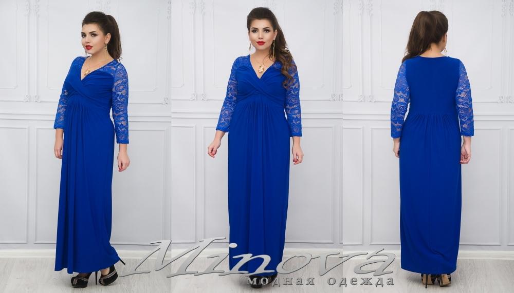 Платье №662 (электрик) (sale)