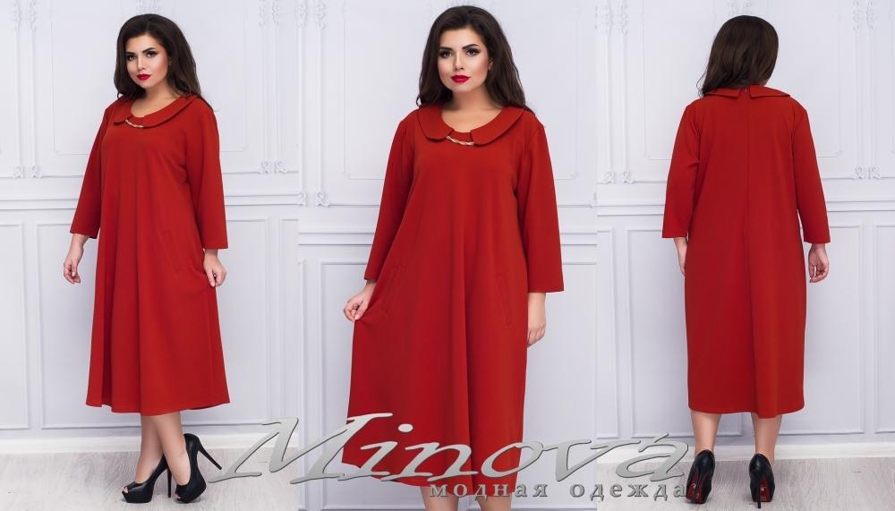 Платье №17-049 (терракот) (sale)
