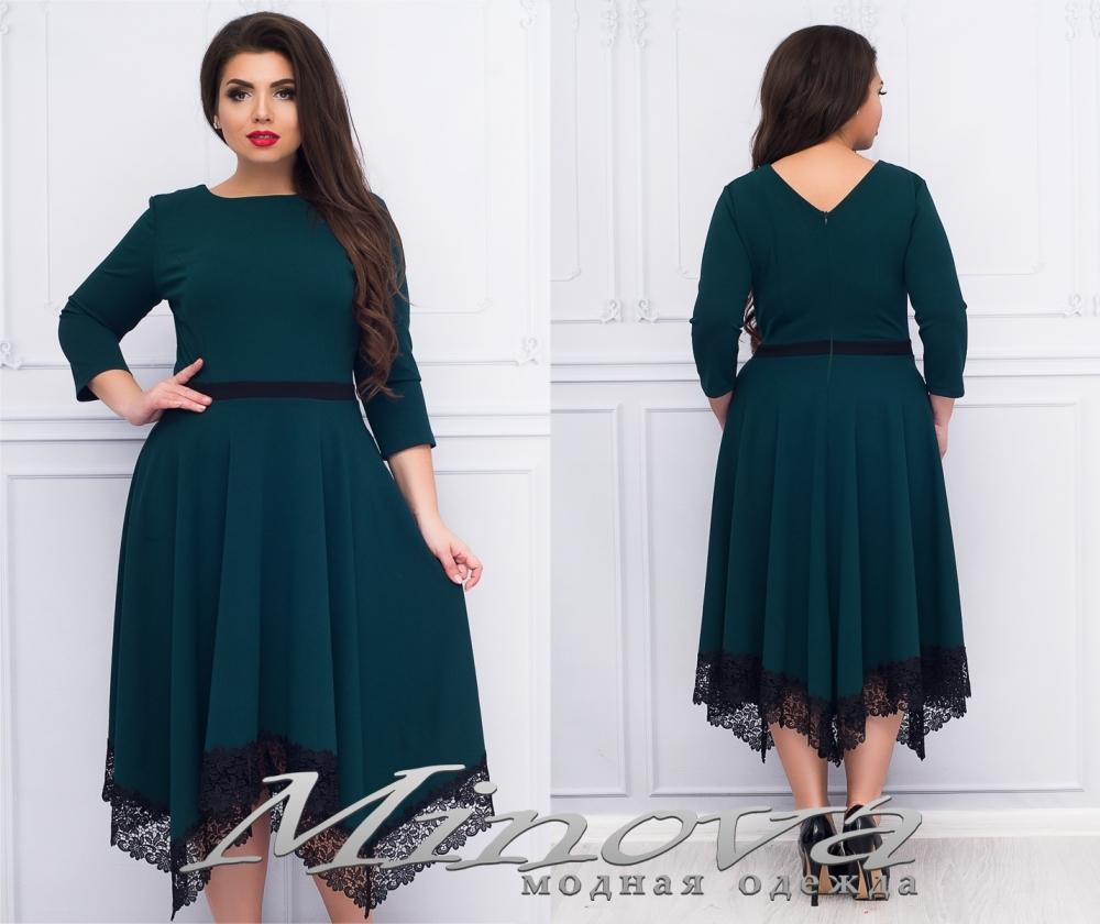 Платье №1181 (зеленый) (sale)