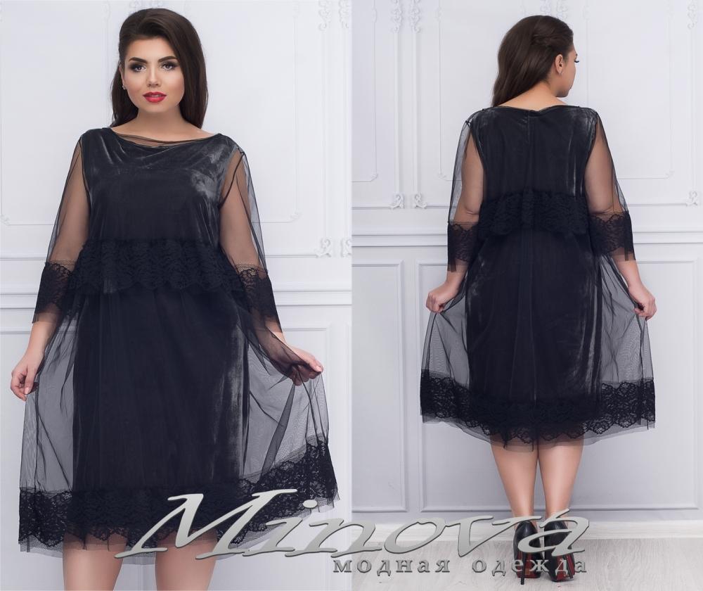 Платье №1155 (черная)