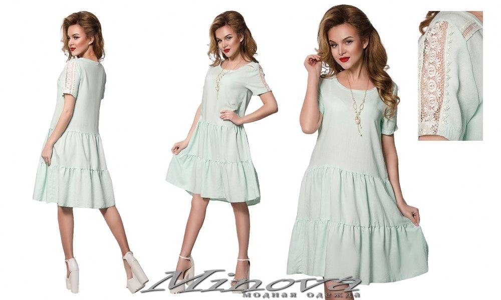 Платье №895 мята (sale)