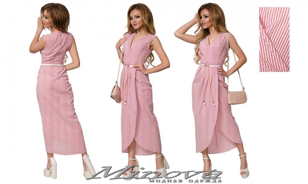 Платье №015н (красный) (sale)