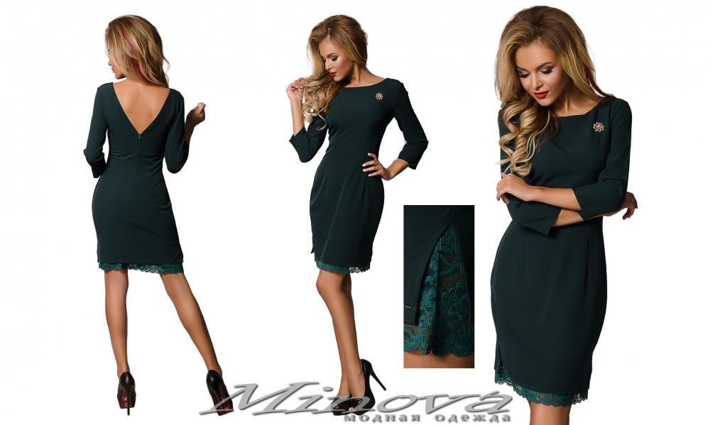 Платье №8555 (зеленый) (sale)