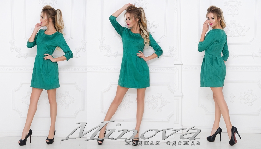 Платье №1002 (бирюза) (sale)