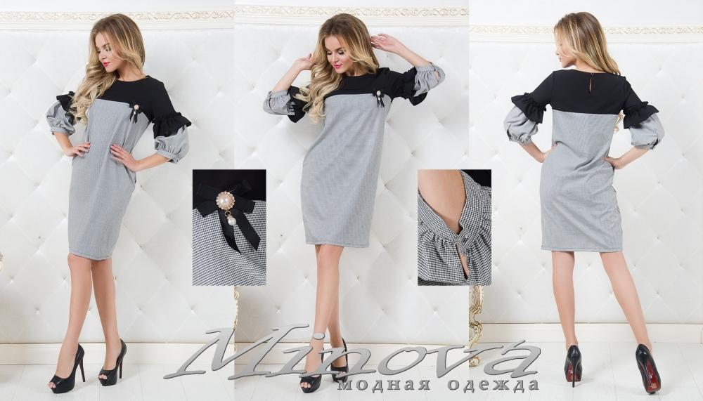 Платье №8564 (гус. лапка) (sale)