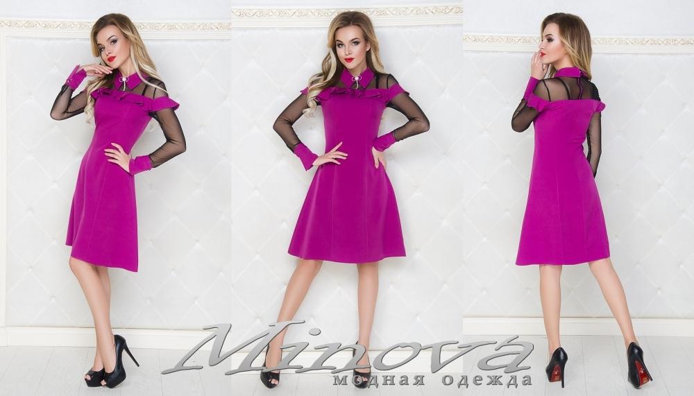 Платье №031мн (фуксия) (sale)