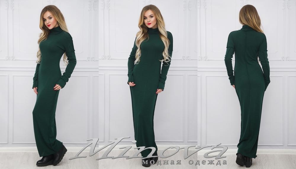 Платье №1016 (зеленый) (sale)