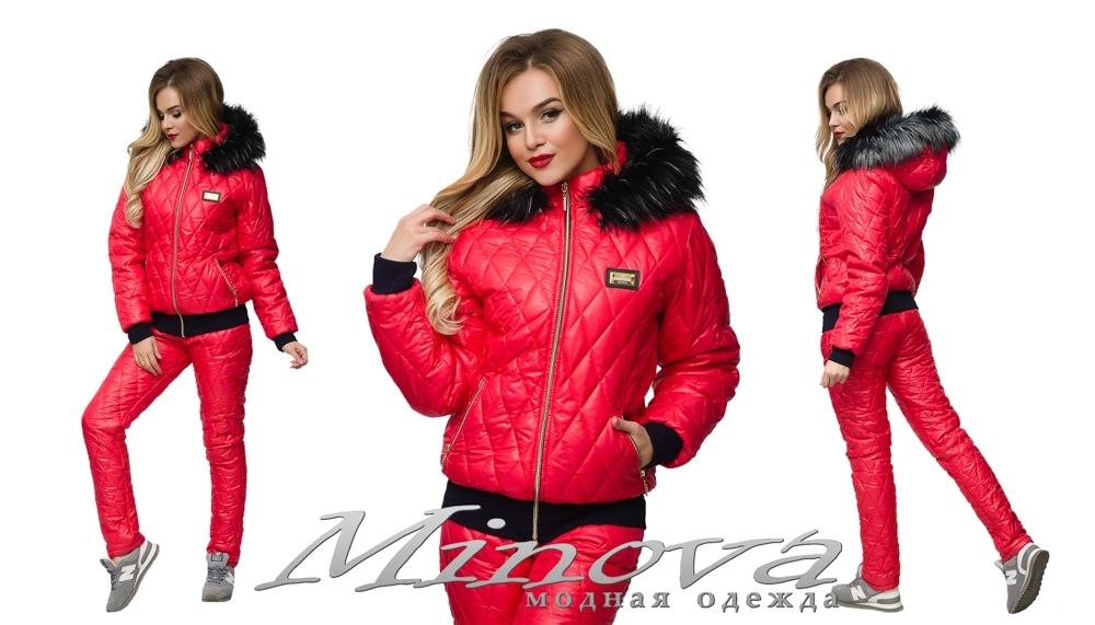 Спорт.костюм №600 (красный)