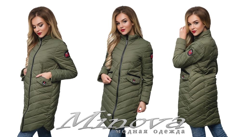Куртка №8815 (хаки) (sale)