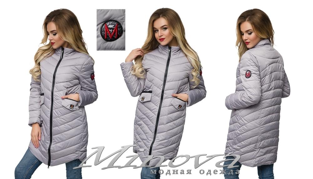 Куртка №8815 (серый) (sale)
