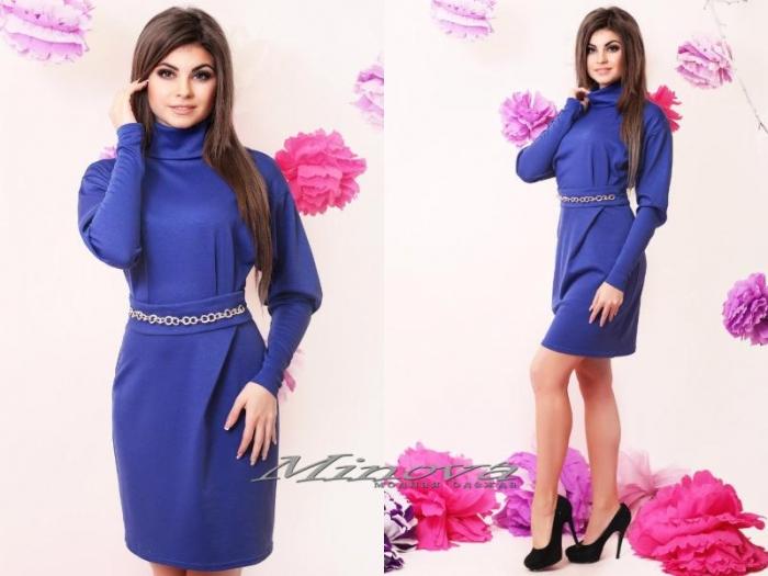 Платье №3047-электрик (sale)