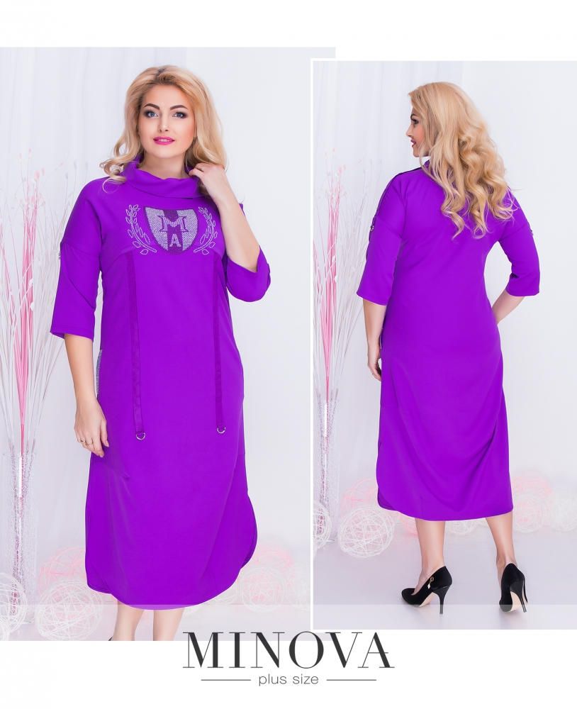 Платье №351-сирень (sale)