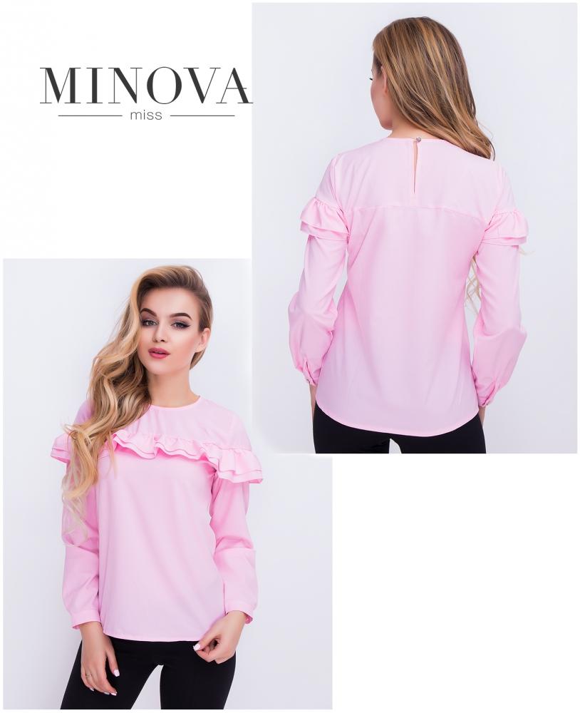 Блуза №402-розовый