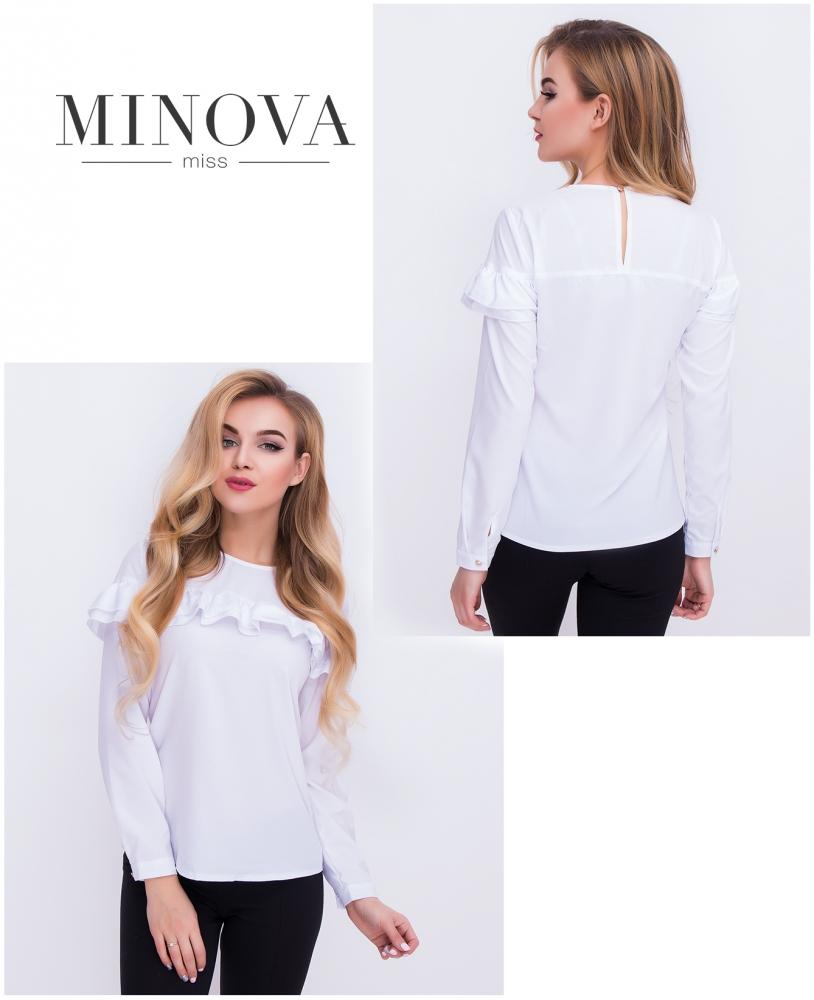 Блуза №402-белый