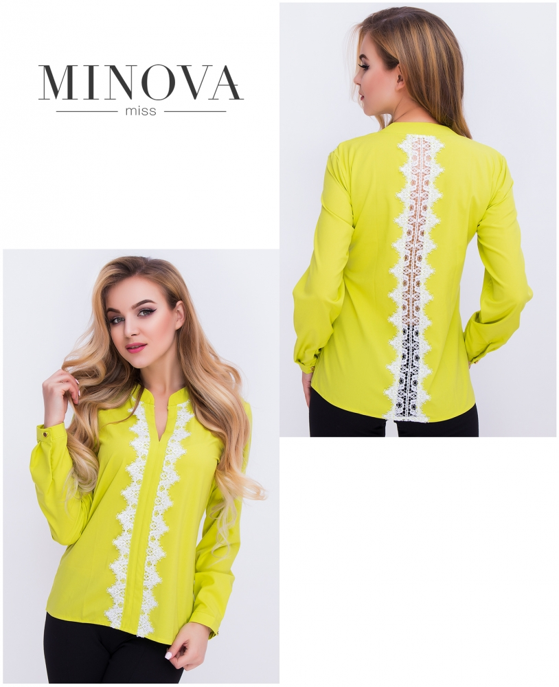 Блуза №403-фисташковый