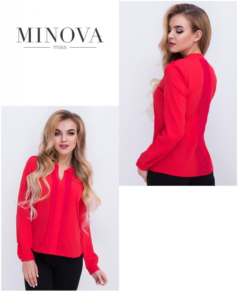 Блуза №403-красный