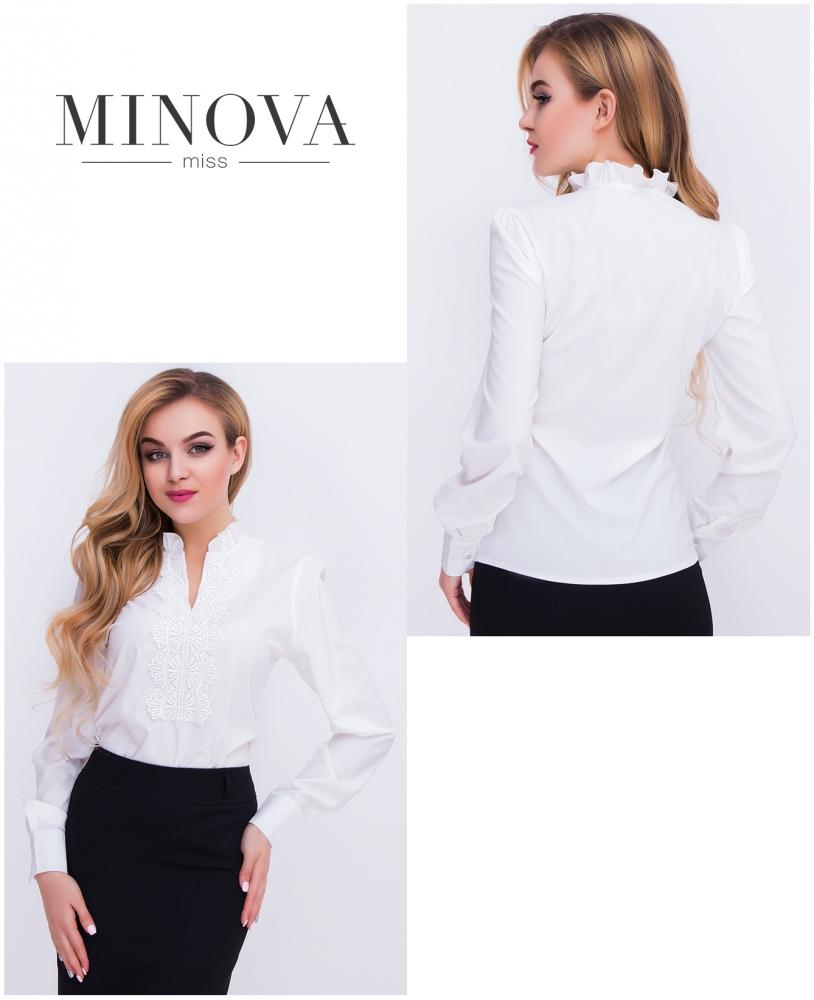 Блуза №404-белый