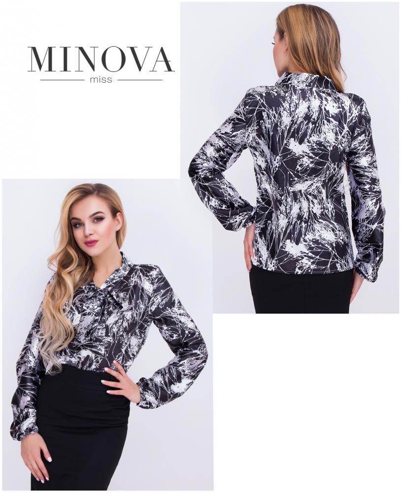 Блуза №м.104-черный