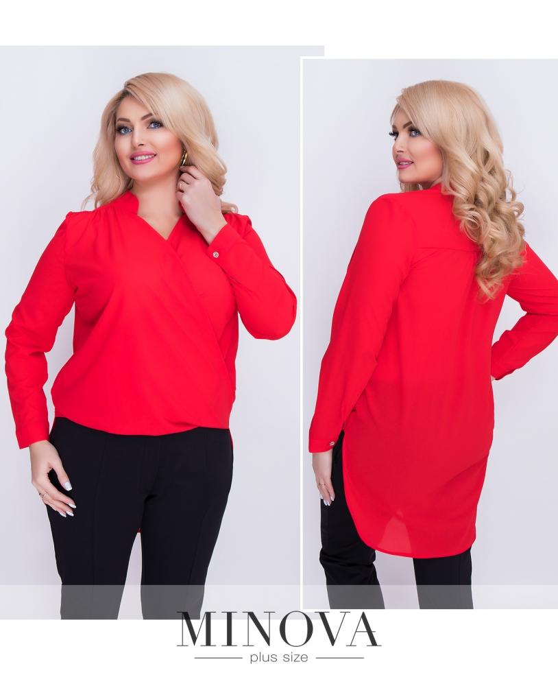 Блуза №1159-красный