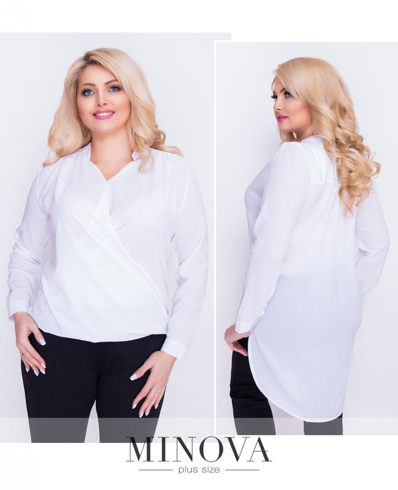 Блуза №1159-белый