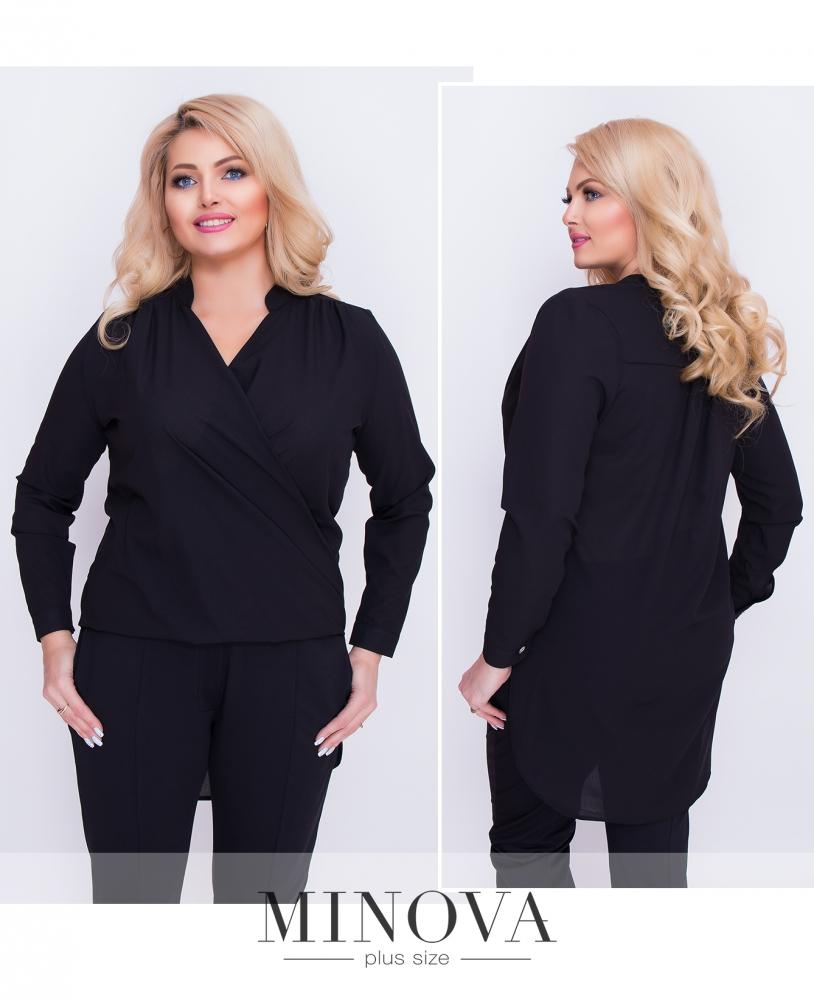 Блуза №1159-черный