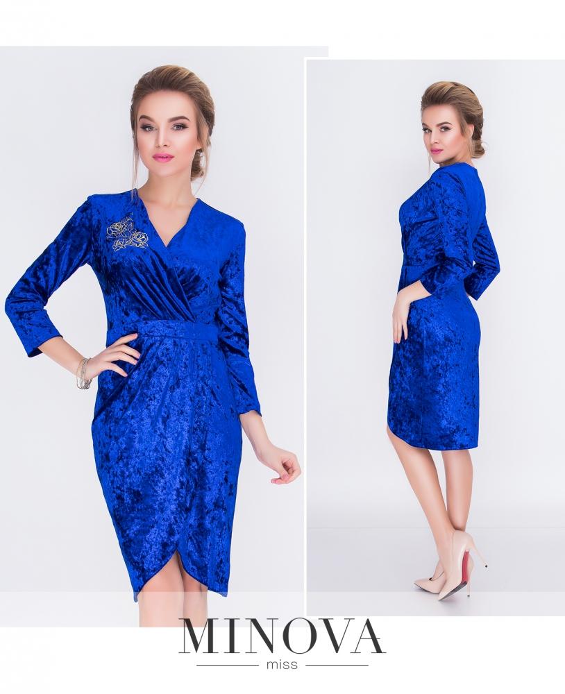 Платье №1517н-электрик_minova_1