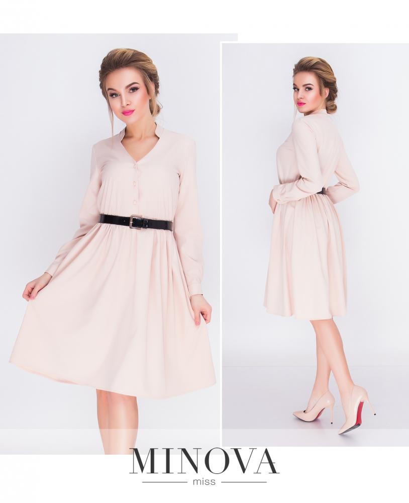 Платье №3092-беж (sale)