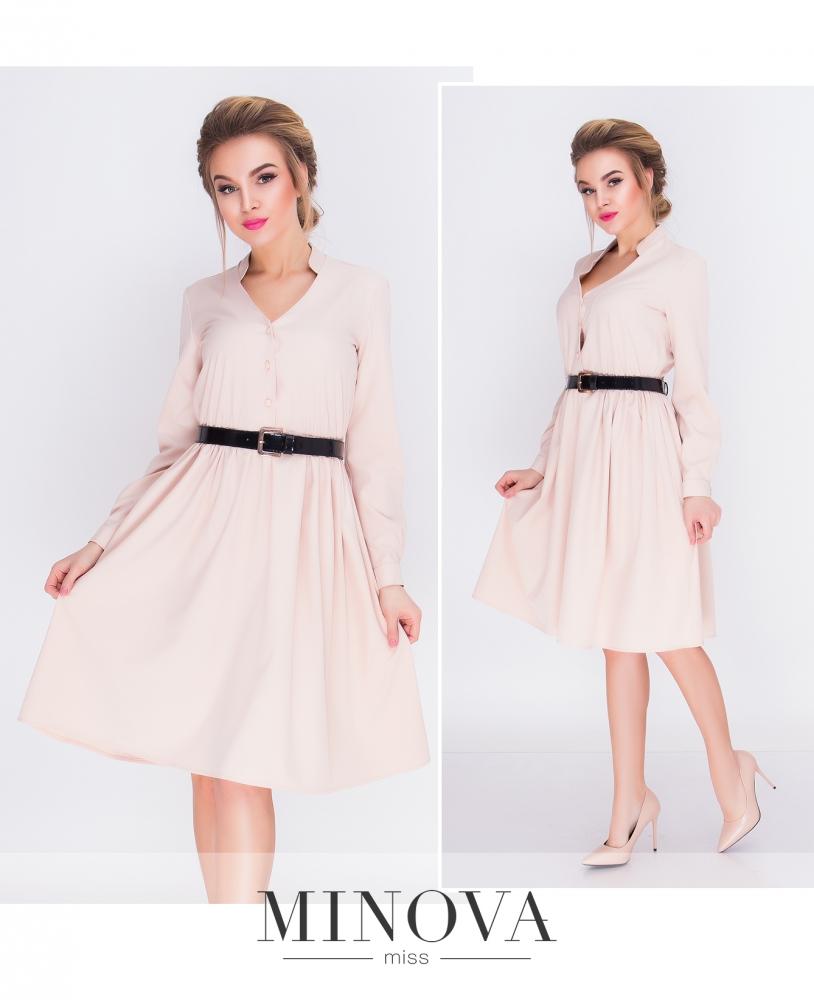 Платье №3092-беж