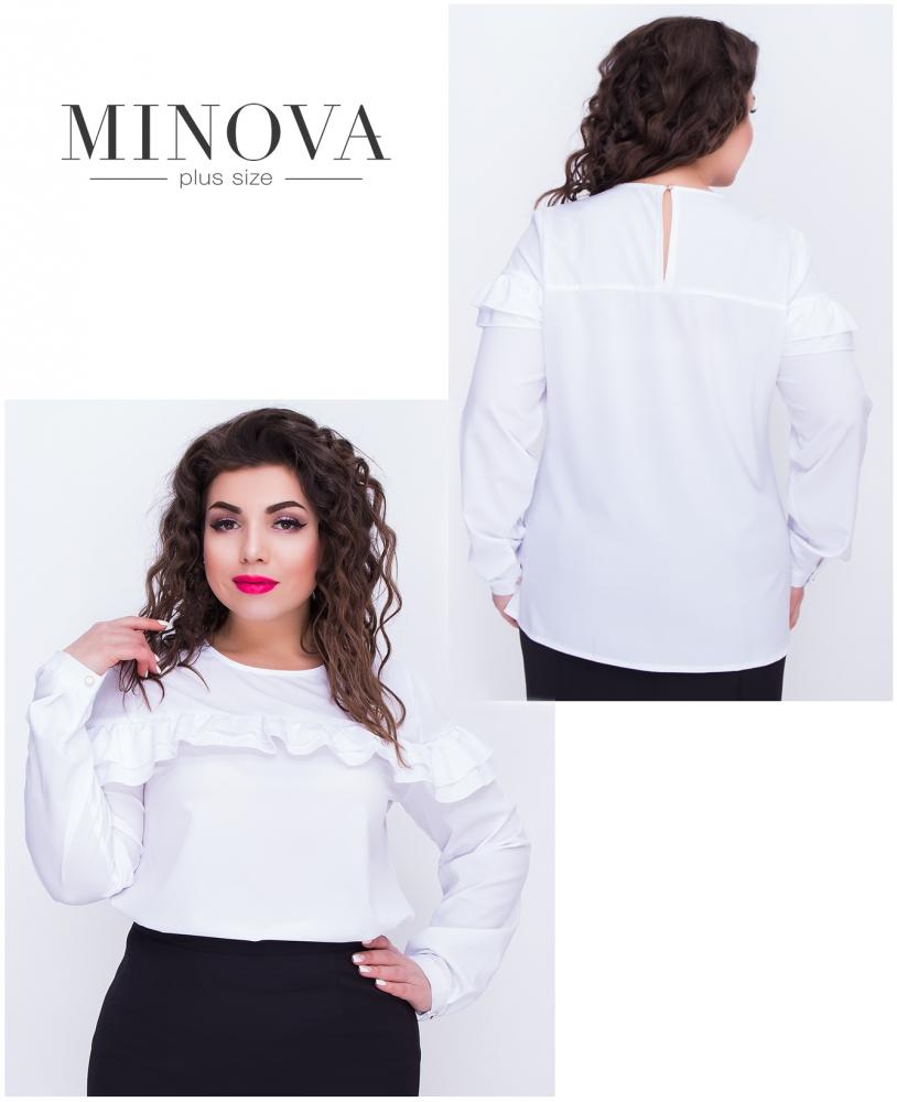 Блуза №405-белый