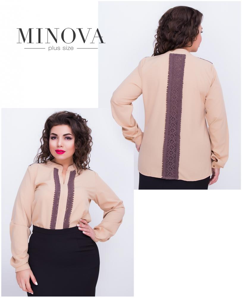 Блуза №407-беж