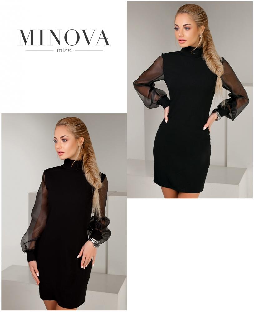 Платье №1151-черный