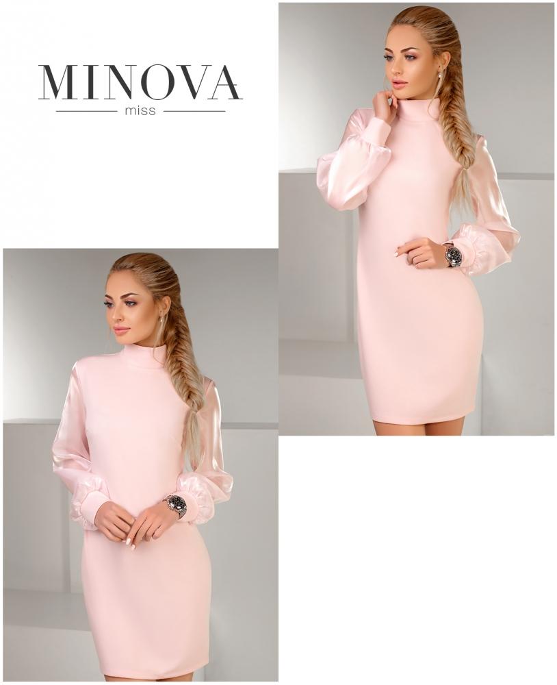 Платье №1151-пудра