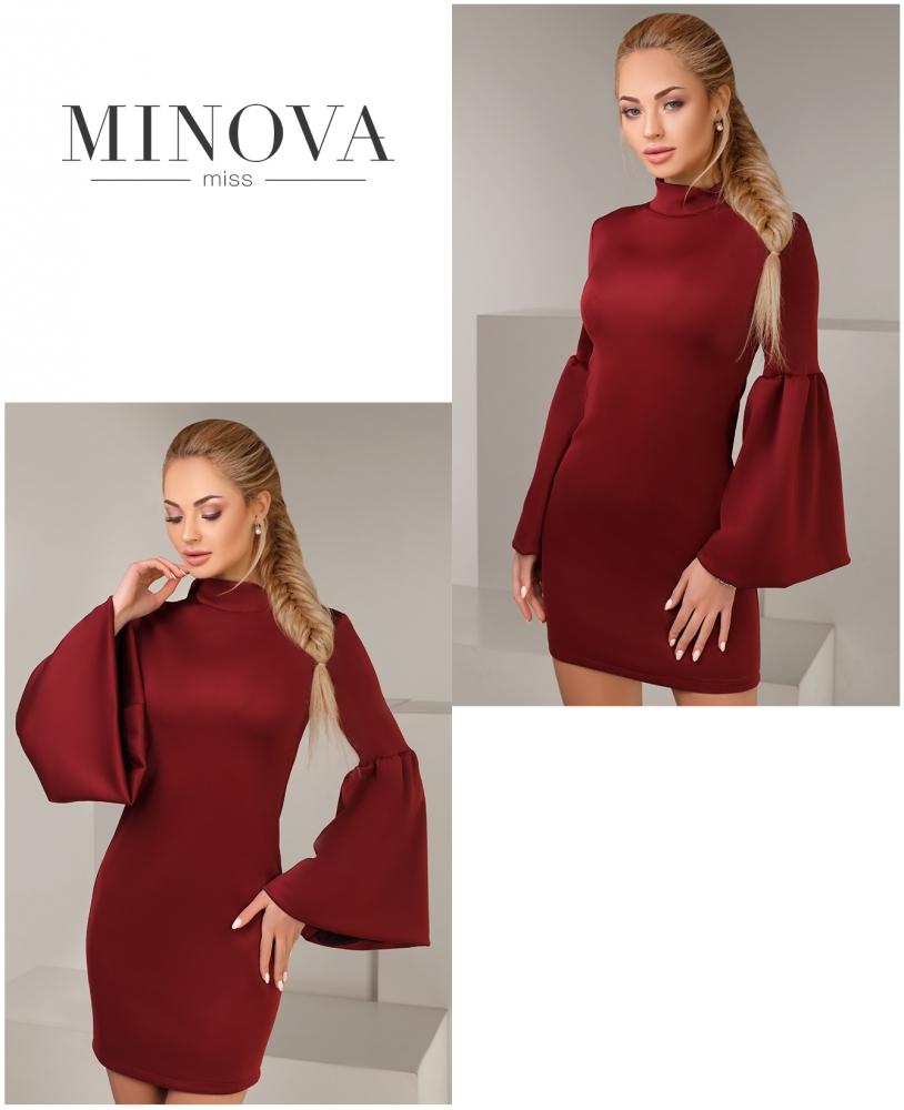 Платье №1001-бордо
