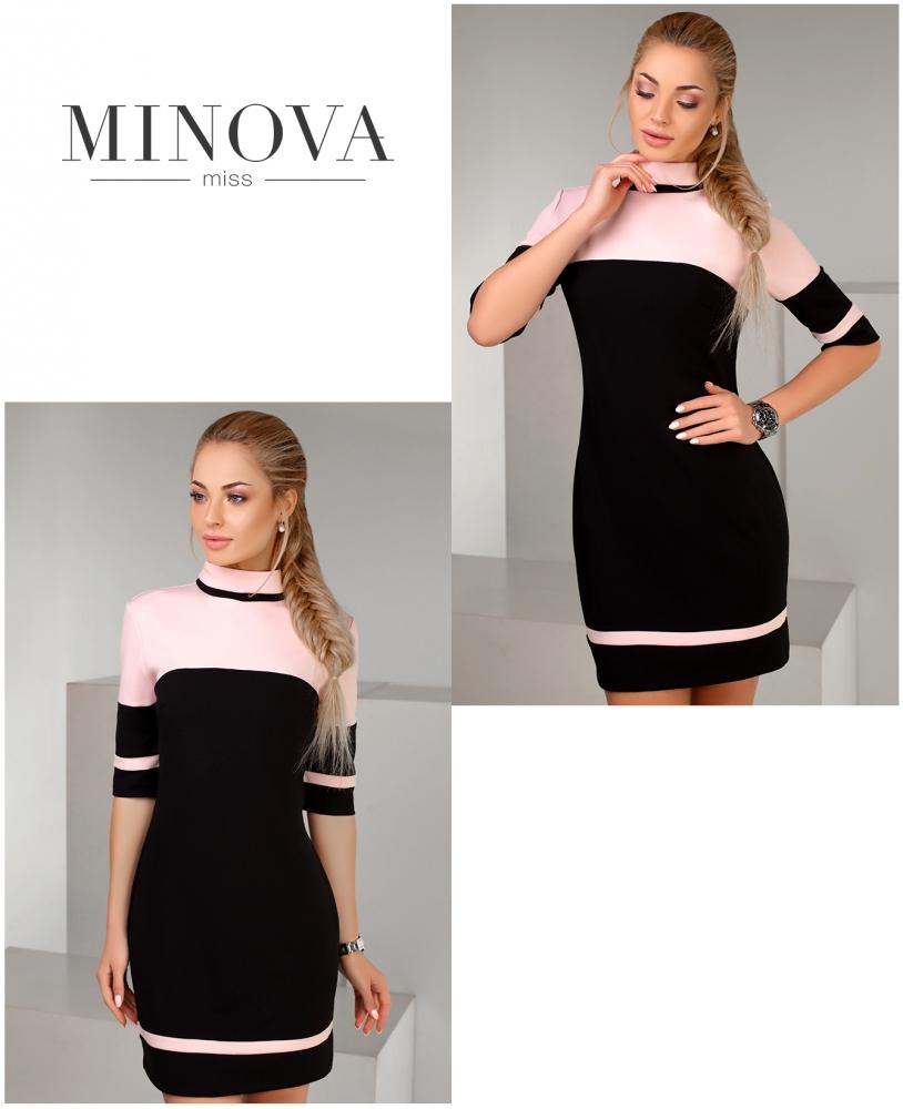 Платье №1152-черный