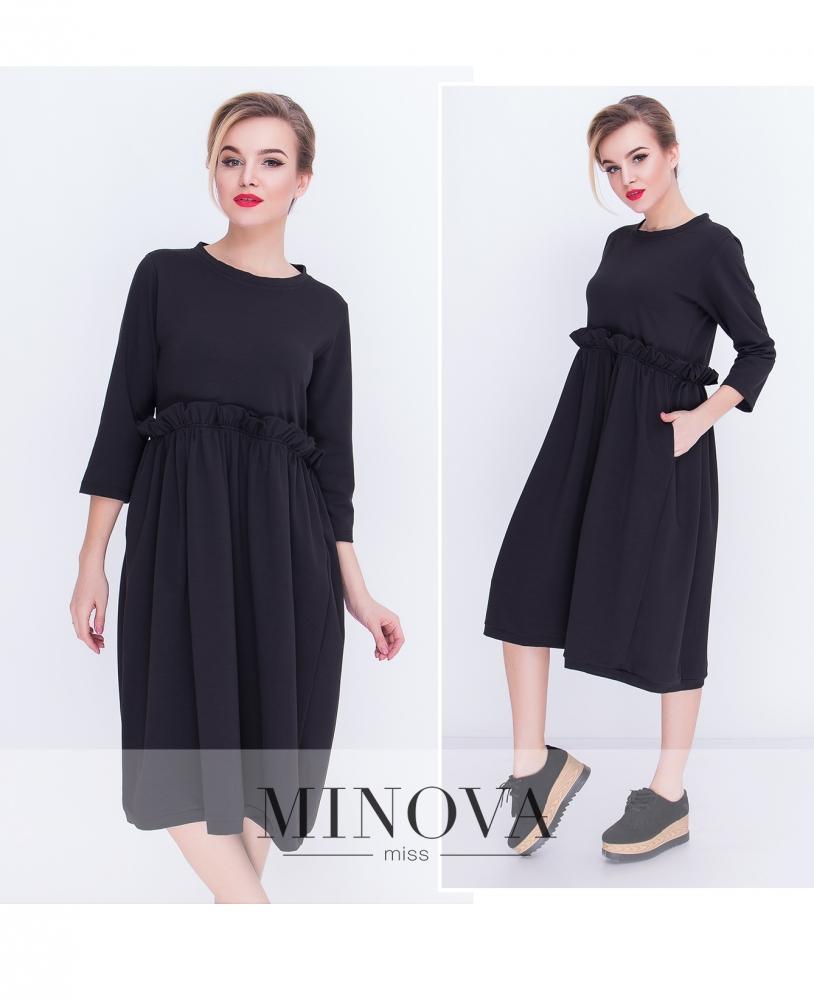 Платье №5066.20-черный
