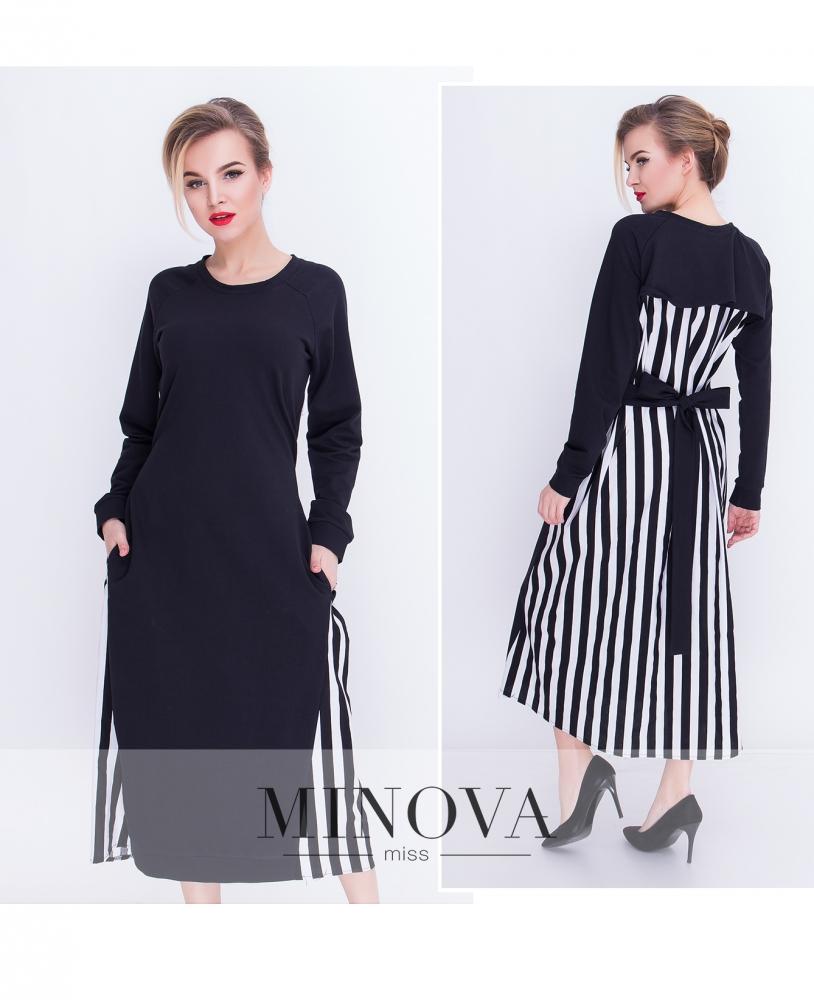 Платье №5079.21-черный