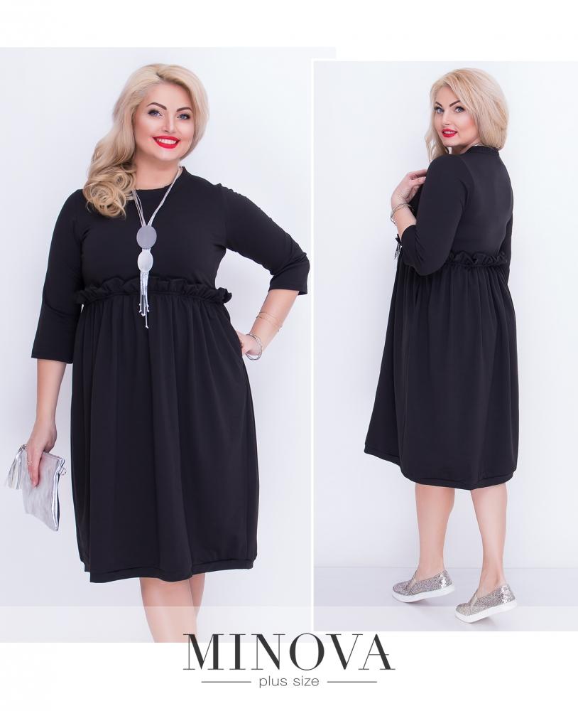 Платье №5066.20б-черный (sale)