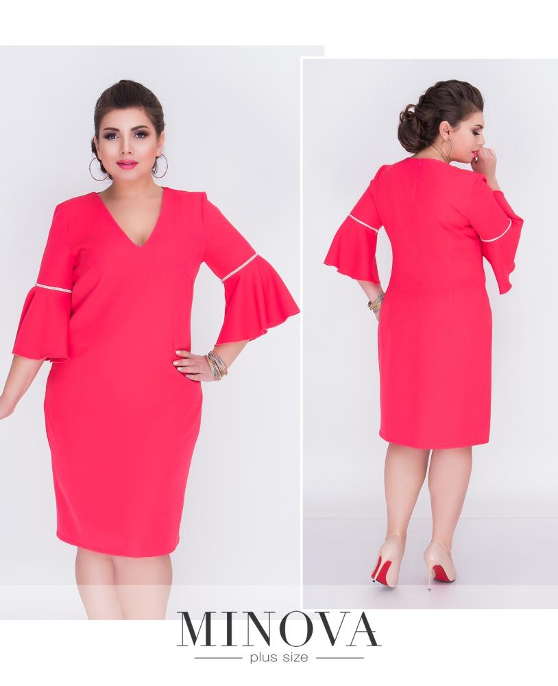 Платье №215б-коралл (sale)