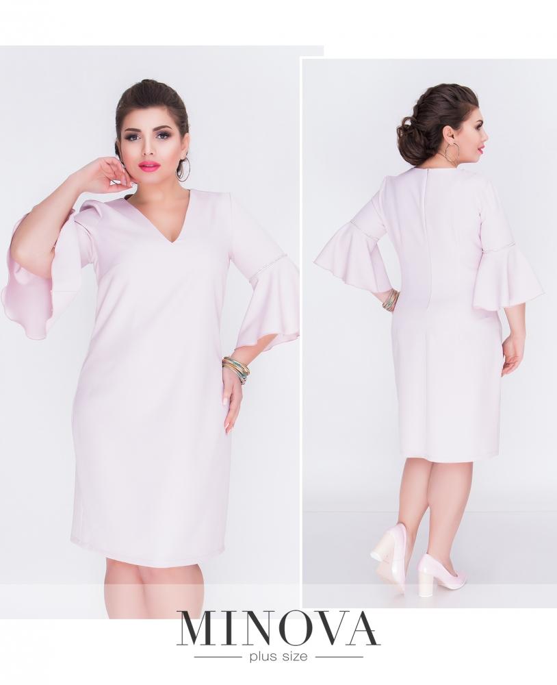 Платье №215-пудра (sale)